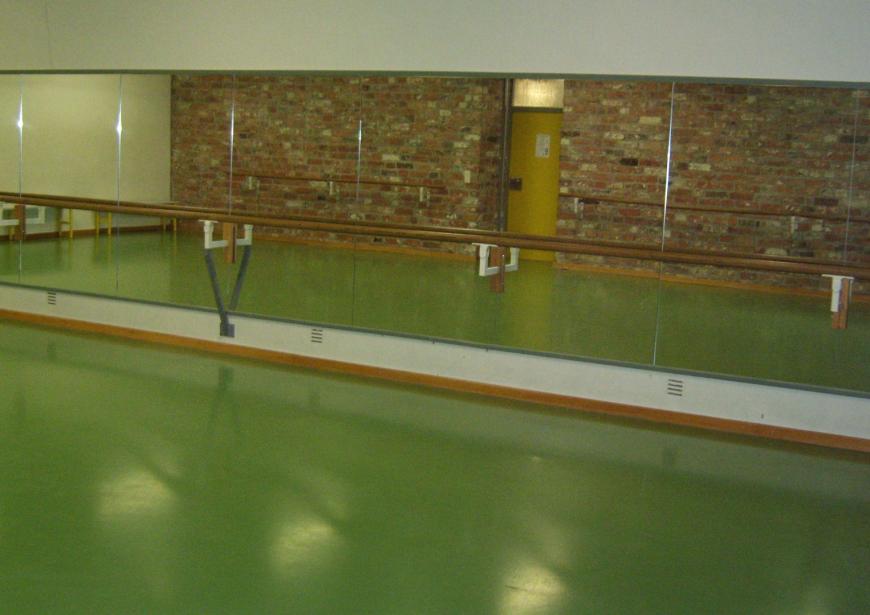 Die kleine Tanzwerkstatt, Ballettsaal