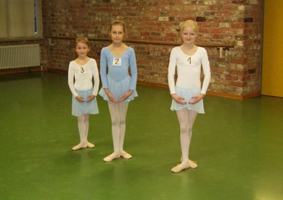 Die kleine Tanzwerkstatt, Prüfung Ballett Ia